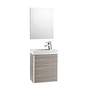 Roca Mini 855865156 Unit Pack With Mirror Grey