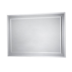 iflo Zora Rectangular Bevelled Mirror 600 x 400mm
