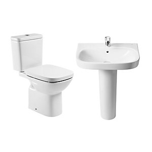 Roca Debba Toilet and Basin Pack