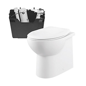 iflo Cascada Back to Wall Pan and Concealed Cistern