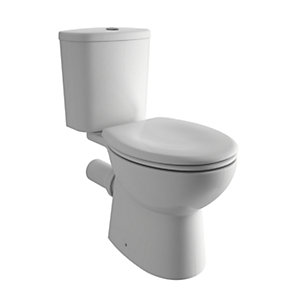 iflo Cascada Close Coupled Toilet, Cistern & Standard Seat Pack