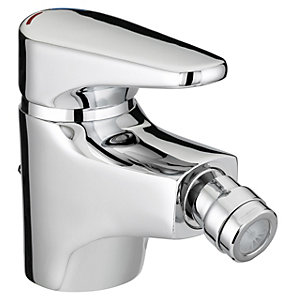 Bristan Jute Bidet Mixer Tap With Pop Up Waste 50 x 105 mm Chrome JU BID C