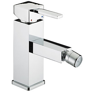 Bristan Quadrato Bidet Mixer Tap 50 x 155 mm Chrome QD BID C