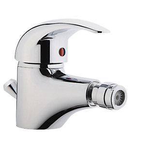 iflo Barcelona Bidet Mixer Tap Brass with Pop Up Waste