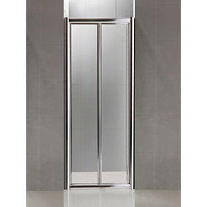 Bifold Shower Enclosure Door 760 mm Chrome