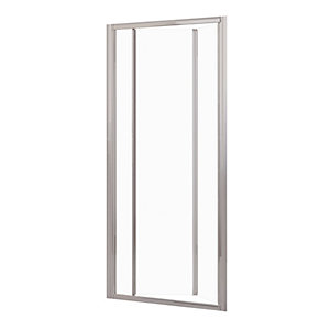 Novellini Lunes Bifold Door Shower Enclosure 720 - 780 mm LUNESS72-1B