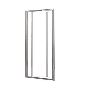 Novellini Lunes Bifold Door Shower Enclosure 720 - 780 mm LUNESS72-1K
