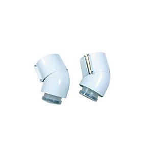 Glow-worm 2000460485 45 Degree Flue Bend Pk2