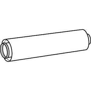 Glow-worm Boiler Flue Extension White 500mm 2000460481