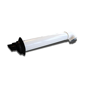 Ideal 208171 Logic Horizontal Flue Terminal 600mm