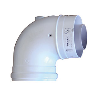 Ideal V3 90 Degree Boiler Flue Elbow 203130