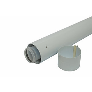 Vaillant 970mm Boiler Flue Duct Extension 100mm Diameter 303903