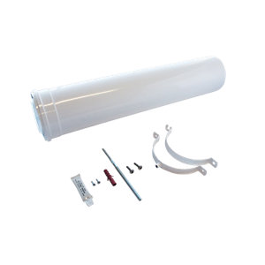 Worcester Bosch Greenstar Oilfit 600mm Internal Boiler Flue Extension 80mm/125mm 7716190097