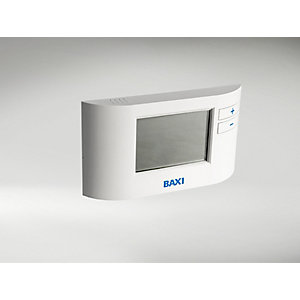 Baxi EcoBlue Single Channel Wired Programmable Thermostat 7212438