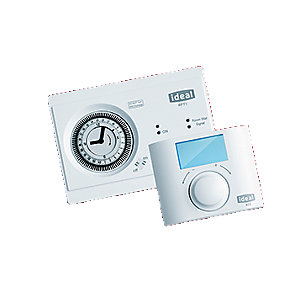 Ideal RF Vogue Mechanical Timer & Room Thermostat 208912
