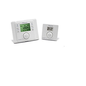 Worcester Comfort 1 RF Wireless Room Stat & Plug in Twin Channel Programmer 7733600001