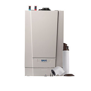 Baxi Ecoblue Advance 25kW Gas Heat Only Boiler ERP & Telescopic Flue Pack