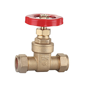 22mm Gate Valve Cxc Bs5154 Brass DZR