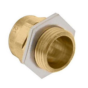 Unicrimp QBW20 20mm Bw Brass Cable Gland