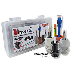 Wiska Winsertkit - Cable Management Solution