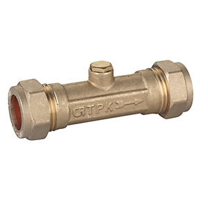 15mm Double Check Valve DZR
