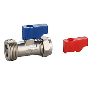 15mm x 3/4in Washing Machine Valve & Check Valve