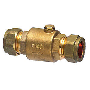 Brass Single Check Valve 15mm