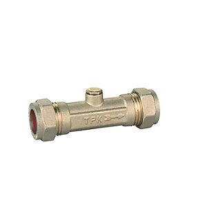 Compression Double Check Valve 15mm