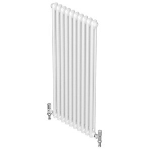 QRL Divo Multi-column Vertical 2 Column Radiator 2000 x 322 mm QMC27