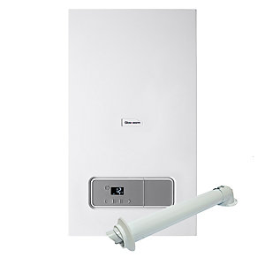 Glow-Worm Energy 25C Natural Gas Combi Boiler ErP 25kW 10015652 + Standard Horizontal Flue Pack