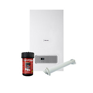 Glow-Worm Ultimate3 35kW Combi Boiler with Horizontal Flue & Free Adey Filter & 10 Year Warranty