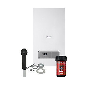Glow-Worm Ultimate3 35kW Combi Boiler with Vertical Flue & Free Adey Filter & 10 Year Warranty