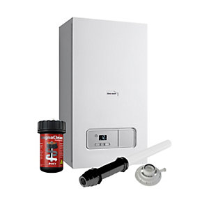 Glow-worm Ultimate 3 30kW Combi Boiler ErP & Vertical Flue with Filter Pack