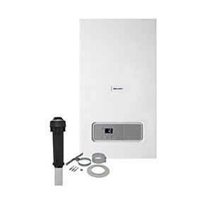 Glow-worm Ultimate 3 30kW Gas Combi Boiler ErP & Vertical Flue Pack