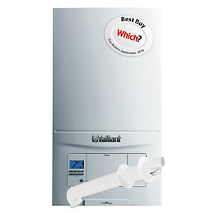 Vaillant ecoFIT Pure 825 Natural Gas Combi Boiler ErP 25kW 10020389 Plus Horizontal Flue Pack