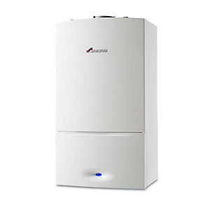 Worcester Greenstar 25Si Compact 25kW Gas Combi Boiler ErP with Vertical Flue and Filter Pack