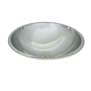 Acorn Powell 253-3 Inset Wash Bowl D390mmx145mm Stainless Steel