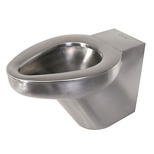 Acorn Powell Btwp Back To Wall WC Pan & Ho (102) Stainless Steel