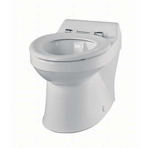 Twyford Sa1514Wh Sola School Rimless Wc Ho Pan 350