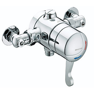 Gummers Sirrus OPTS1503ISOLC Opac Ts15063 Exposed Iso Lever Chrome Shower Valve