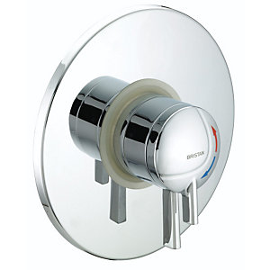 Gummers Sirrus STR TS1875 CDC C Stratus Concealed Dual Control Chrome Shower Valve
