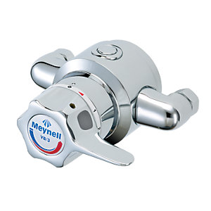 Meynell Prsm0625P V8/3 Built-In Single Sequential Thermostatic Shower Mixing Valve With Long Lever