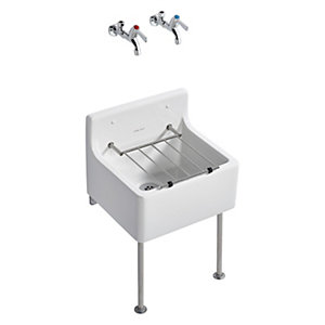 Ideal Standard Birch 46cm Cleaners Sink Pack S047501
