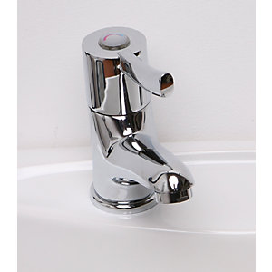 Barwood Bplmon Spray Basin Mixer Tap Chrome Plated