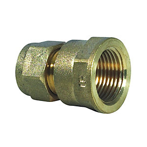 Compression Fl Coupling DZR 15 mm x 1/2in