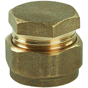 Stopend Compression DZR 28 mm
