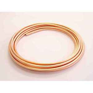 Wednesbury Copper Pipe Plain Coil 10 mm x 25 m Table W (Per Metre)