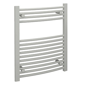 Standard 22mm Towel Rail Curved White 750x600mm