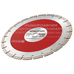 Spectrum TC10 Circular Diamond Cutting Blade 115mm and 230mm Twin Pack