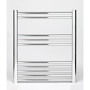 Towelrads Hamilton Chrome Straight Towel Rail 700mm x 400mm
